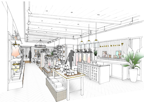 Fashion kinnersley kent design heidi klein the luxury swimwear brand and holidaywear retailer asked kkd to create a retail concept fit to serve as a blueprint for international malvernweather Images