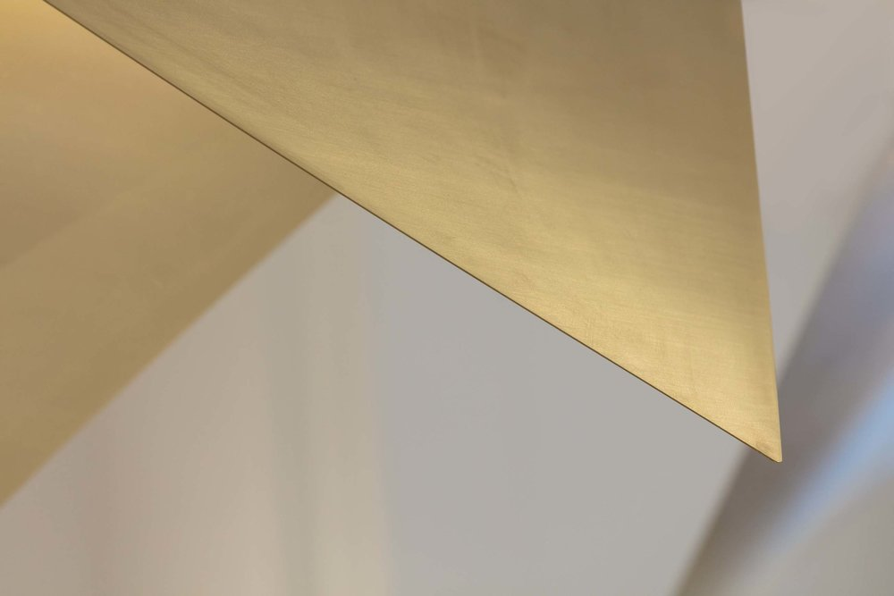 brass design detail The Fold - KKD