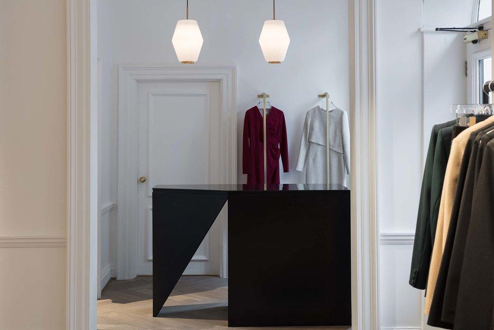 contemporary retail design The Fold - KKD
