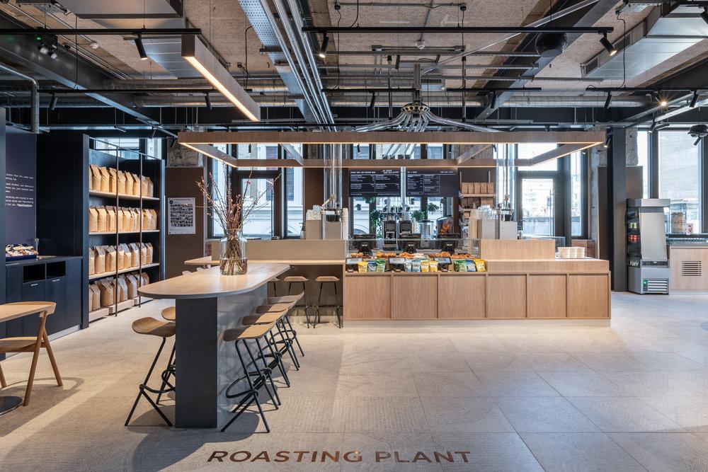 Roasting Plant - design - KKD