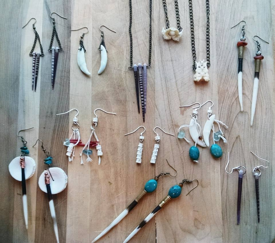 Taxidermy Jewelry Collection