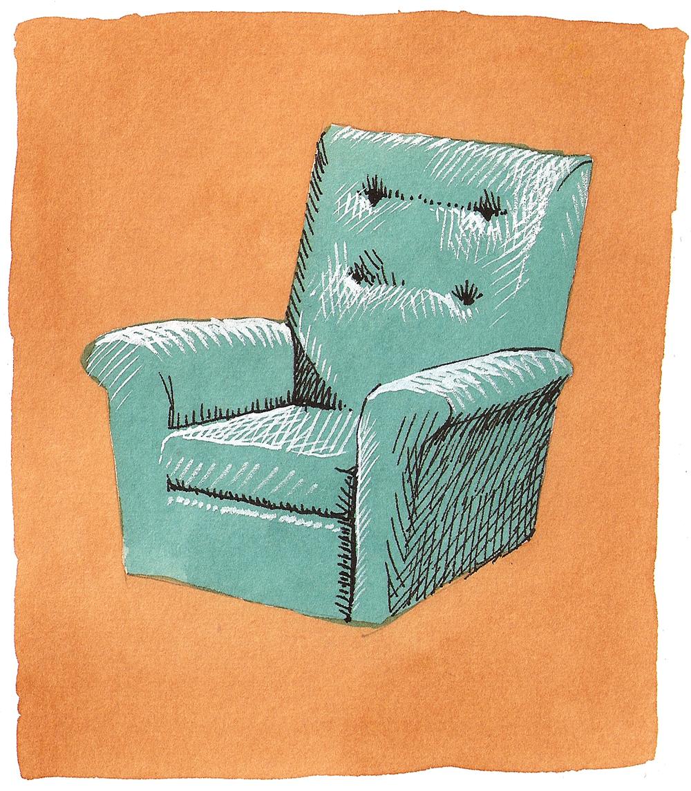 'Turquoise Seat'