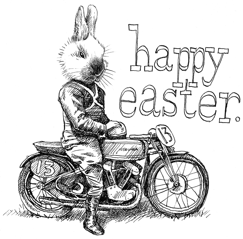 'Happy Easter'