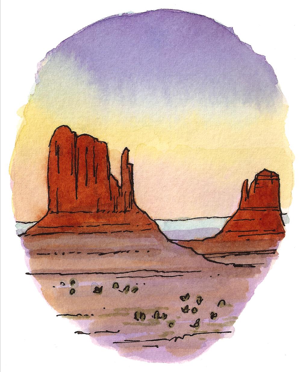 'Desert Sunset l'