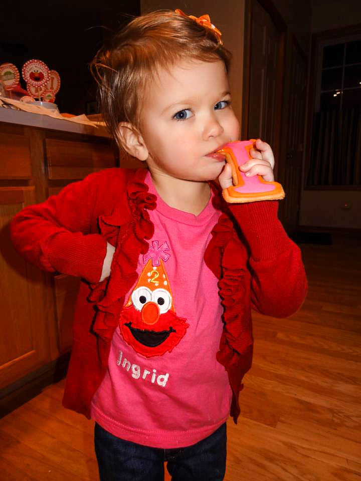 Ingrid, age 2
