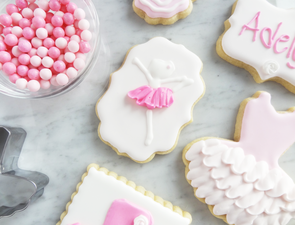 Ballerina sugar cookie (I Bake, You Bake)