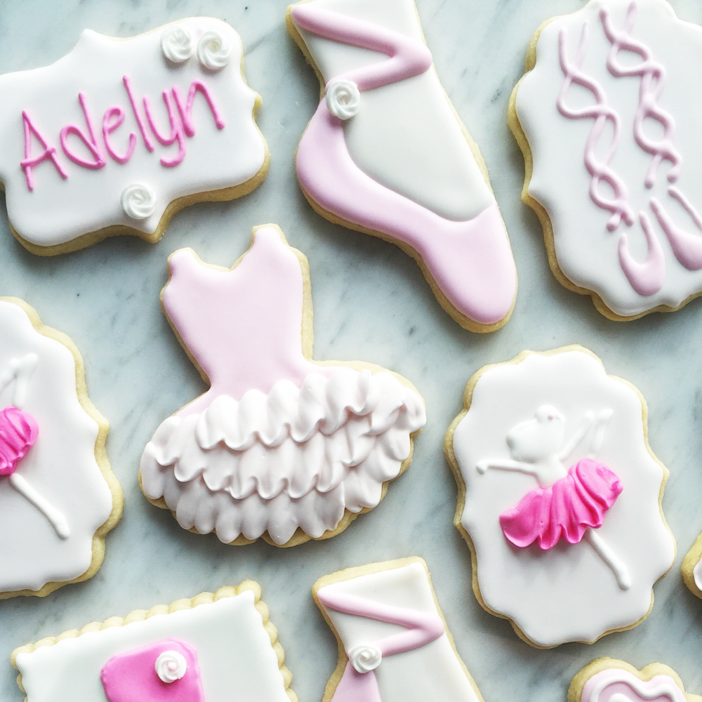 Ballet cookies (I Bake, You Bake)