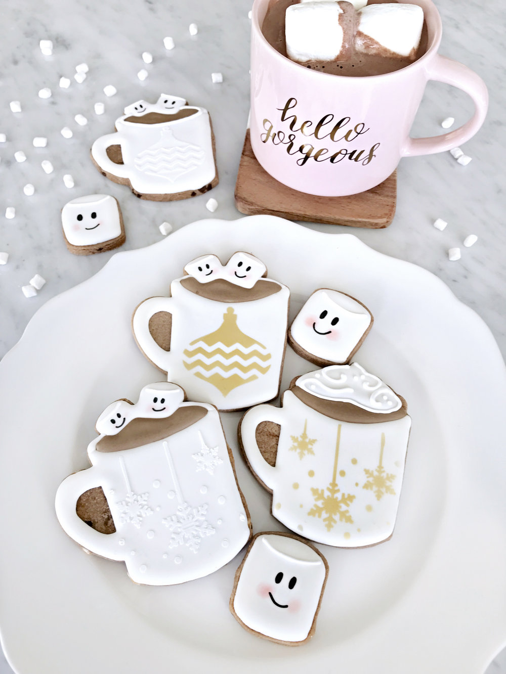 Fun, wintery cuteness on a plate