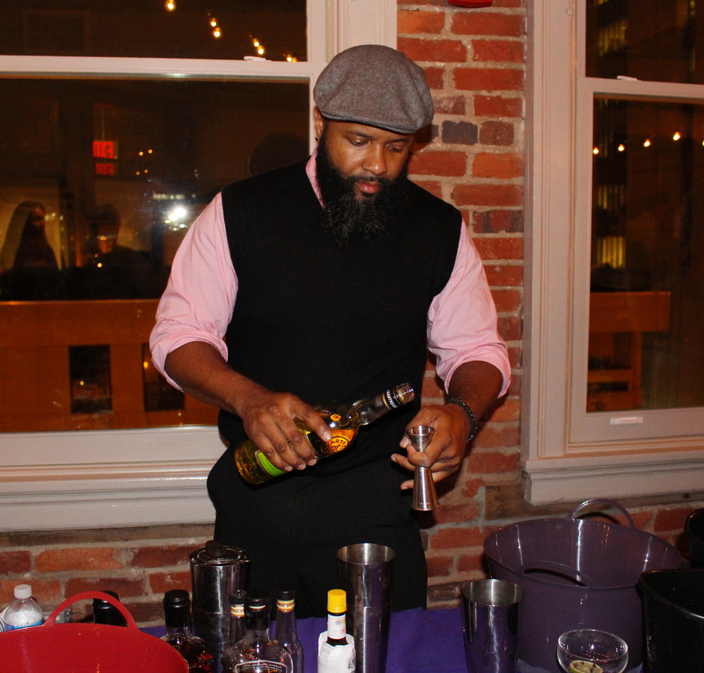 "TORRENCE SWAIN OF BOURBON STEAK WAS INSPIRED BY POE'S MOST FAMOUS WORK, ""THE RAVEN"""