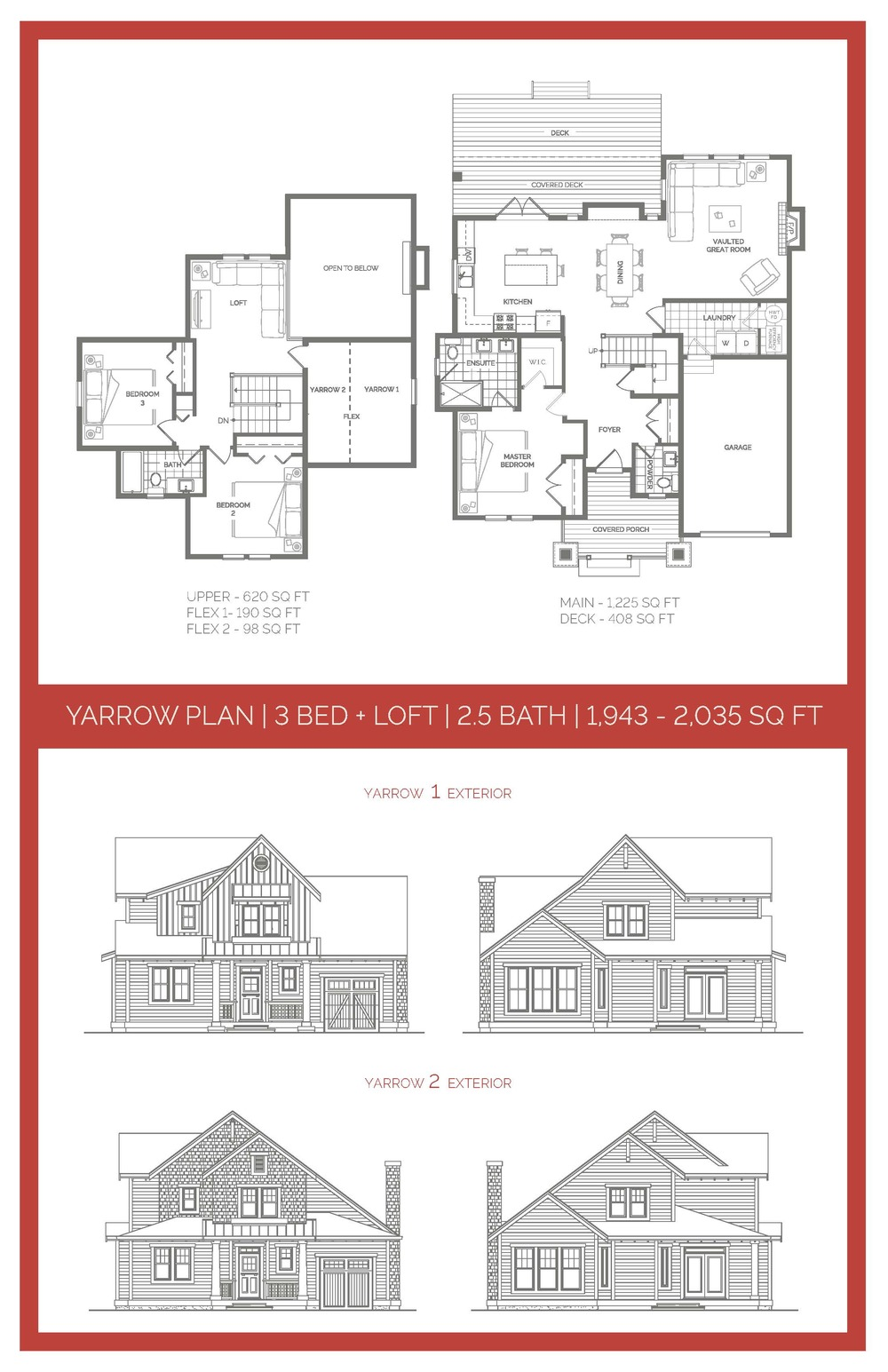 YARROW FLOORPLAN