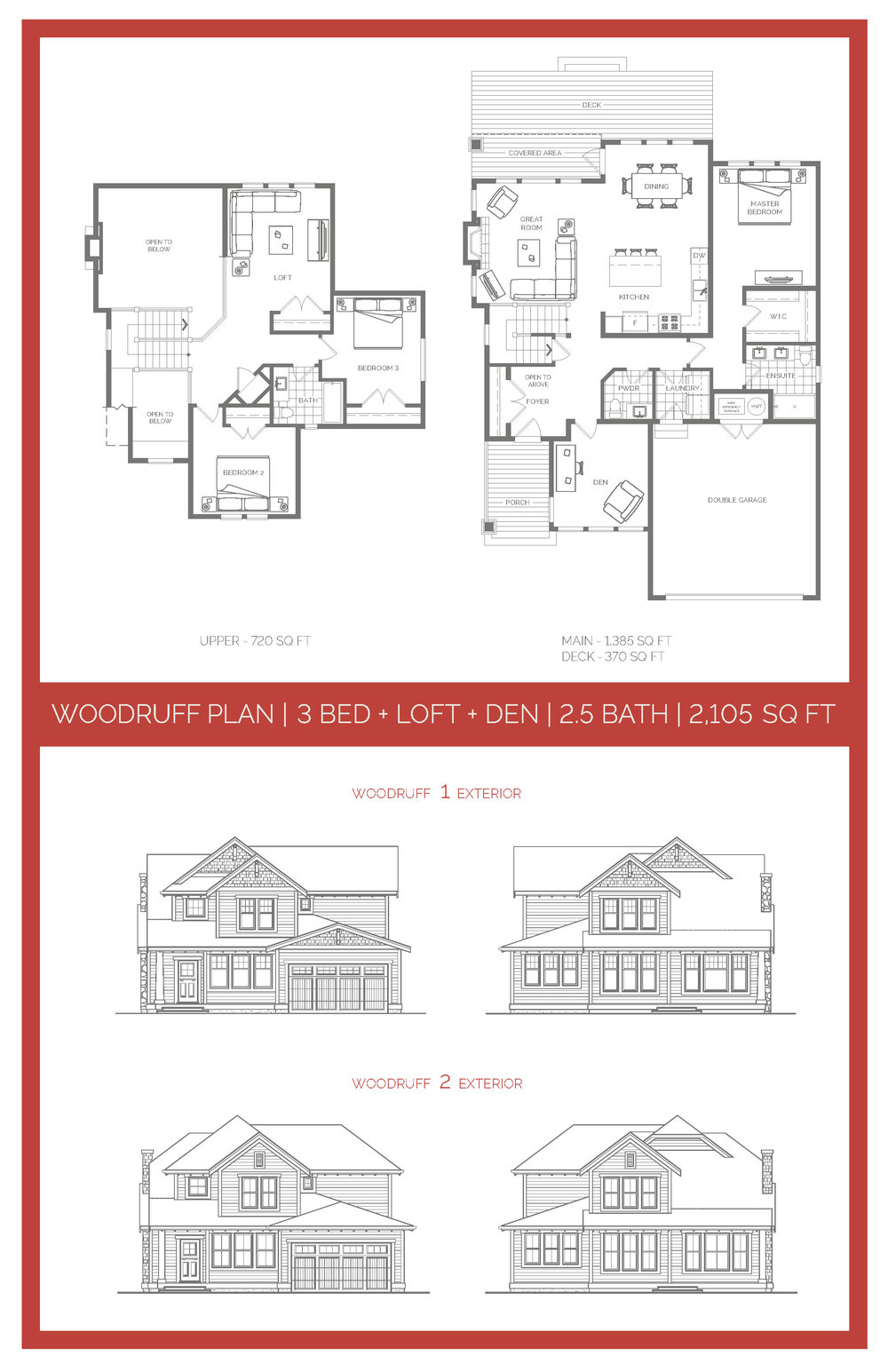 The Woodruff Floor Plan