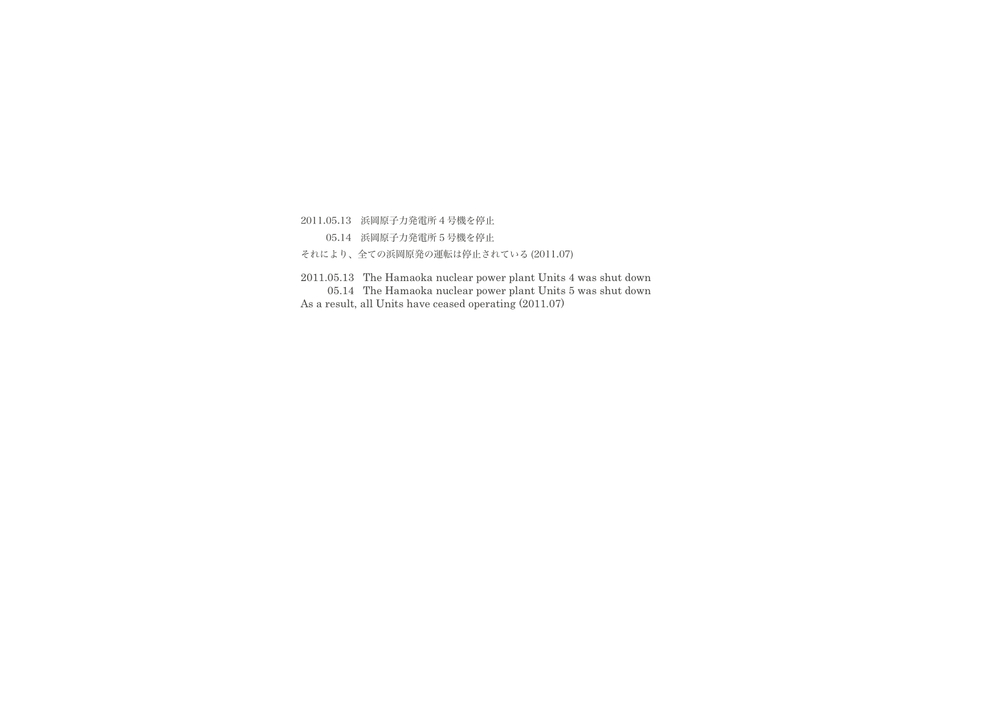 HAMAOKA/浜岡 #12