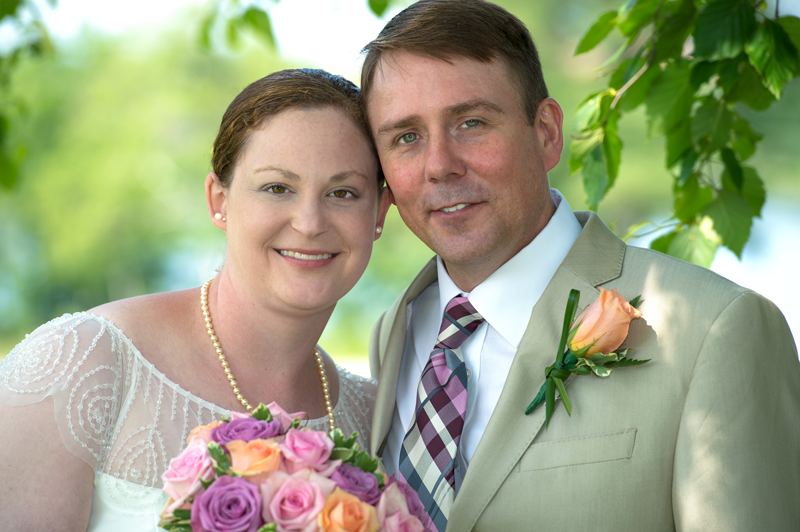 PEI Wedding Photographer; Inn at Bay Fortune, happy married couple