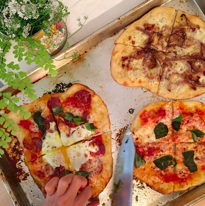 NYC pizza via Bon Appetit