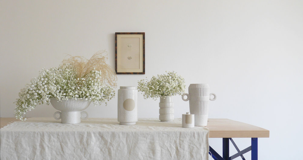 Spring 2018 Neo-Classical Vases.