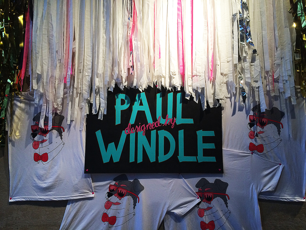 Event Design, Installation, Styling:  Michelle Bablo  Shirt Design:  Paul Windle   Brooklyn, NY 2015