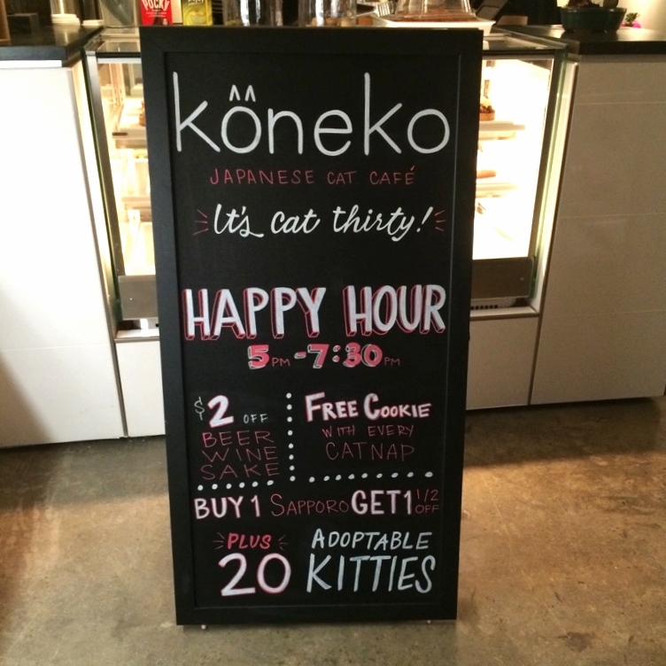 Koneko Cat Cafe   2015