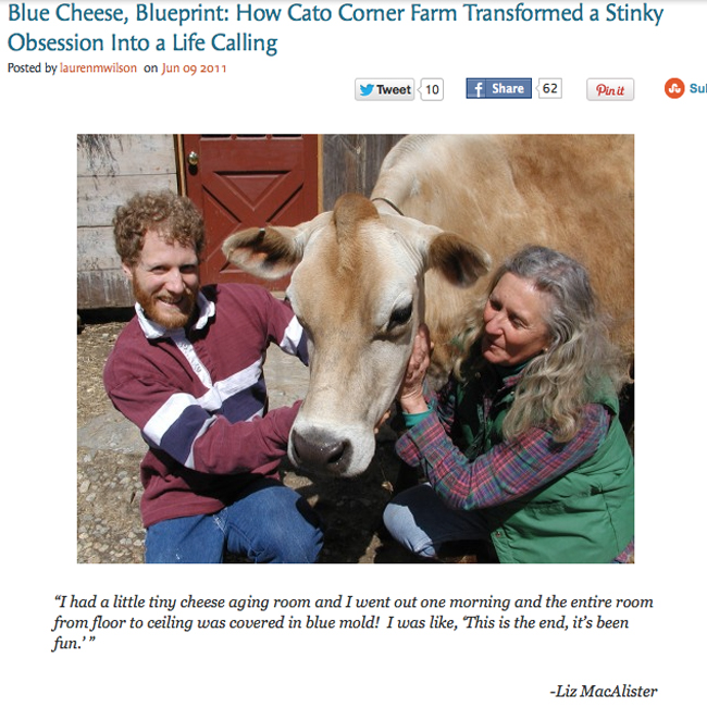 Article for Nona Brooklyn on Cato Corner Farms
