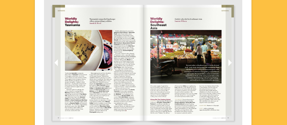 Article for Ensemble Travel Magazine on cooking schools in Southeast Asia