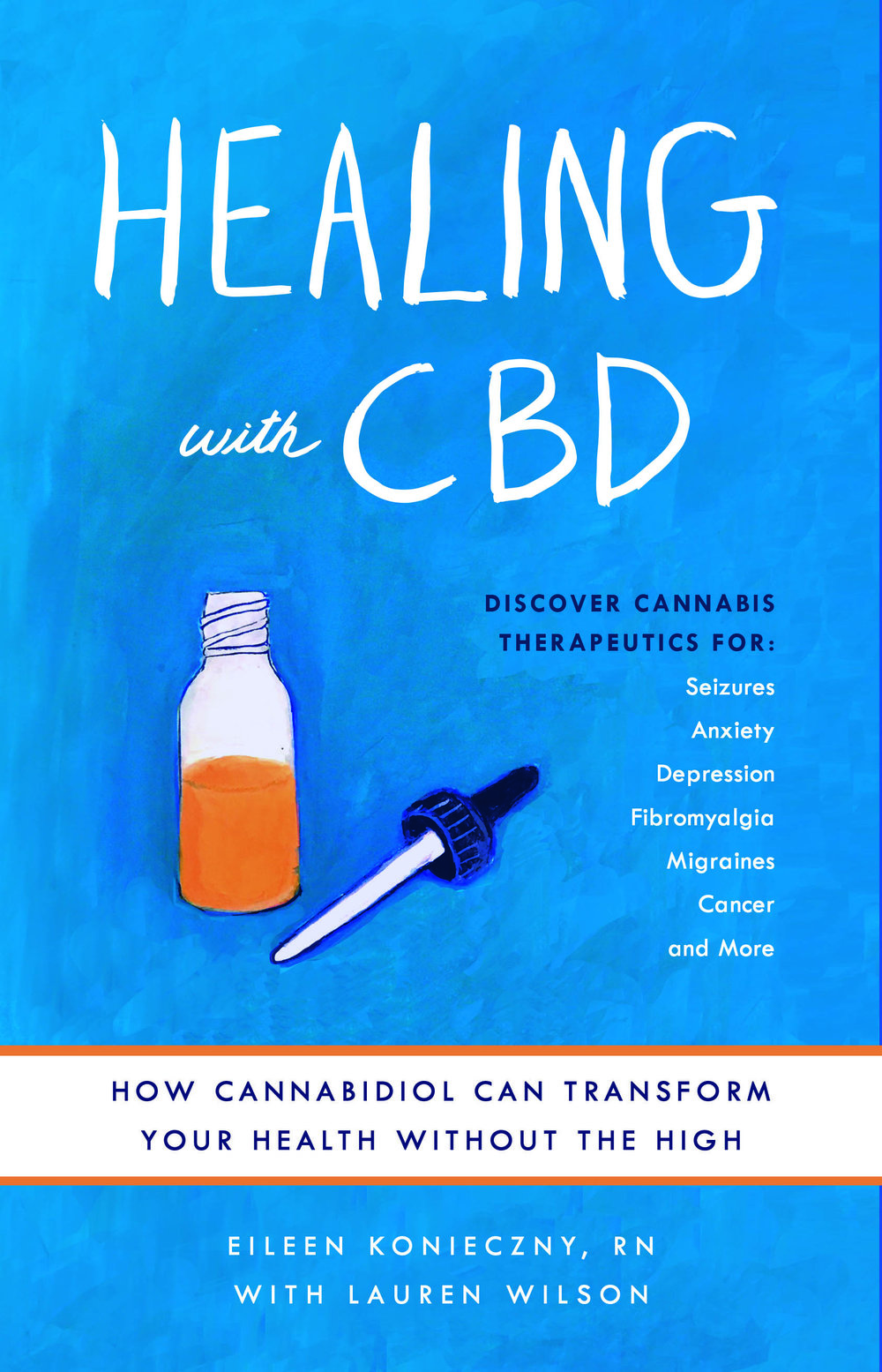 Healing with CBD Cover
