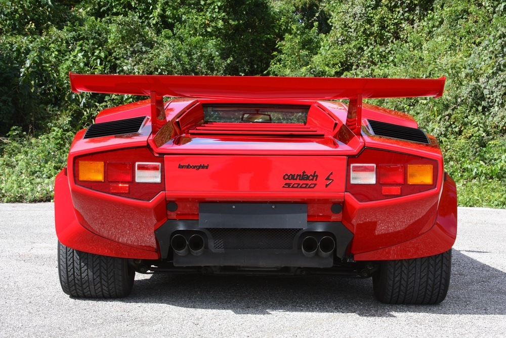 1983 Lamborghini Countach Lp500s M Brandon Motorcars