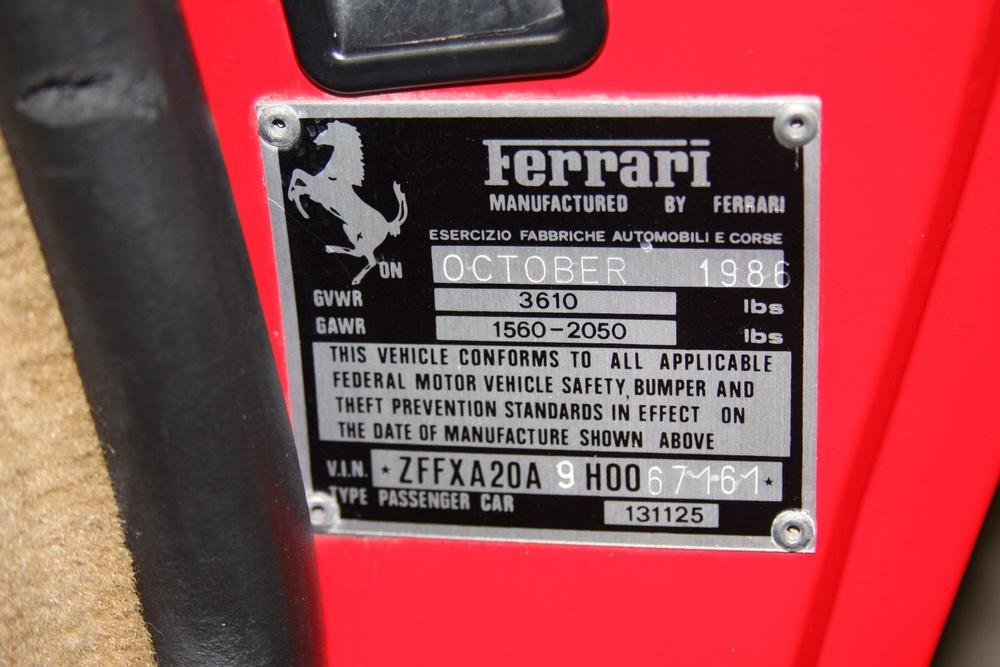 1987 Ferrari 328 GTS (H0067161) 21.jpg