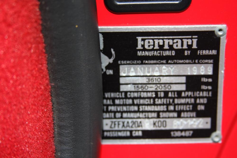 1989 Ferrari 328 GTS (K0080192) 31.jpg