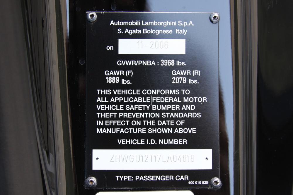 2007 Lamborghini Gallardo (7LA04819) 24.jpg