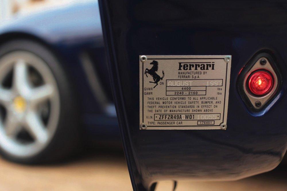 1998 Ferrari 550 Maranello (W0110055) - 25.jpg