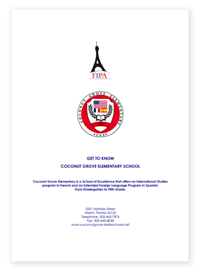 Download the Parent's Handbook about Coconut Grove Elementary School