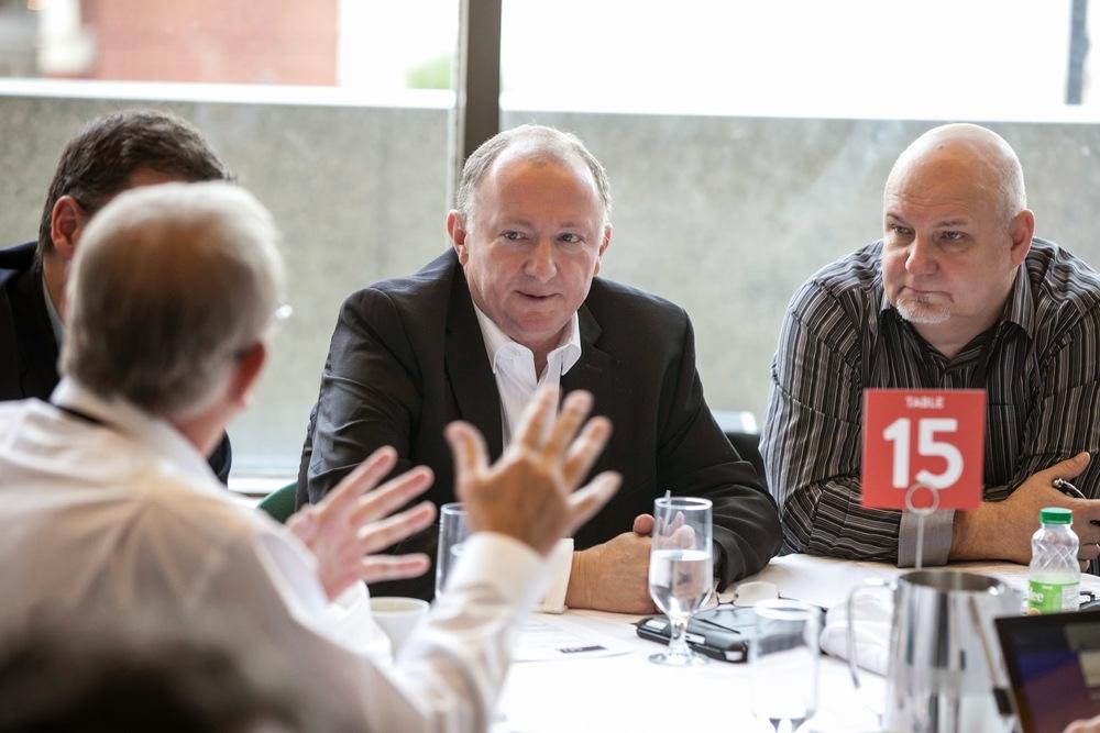 Table 15: Chuck Hamilton, Dan Morrison, Rich Lull, Chris Wiesinger, John DiMichele