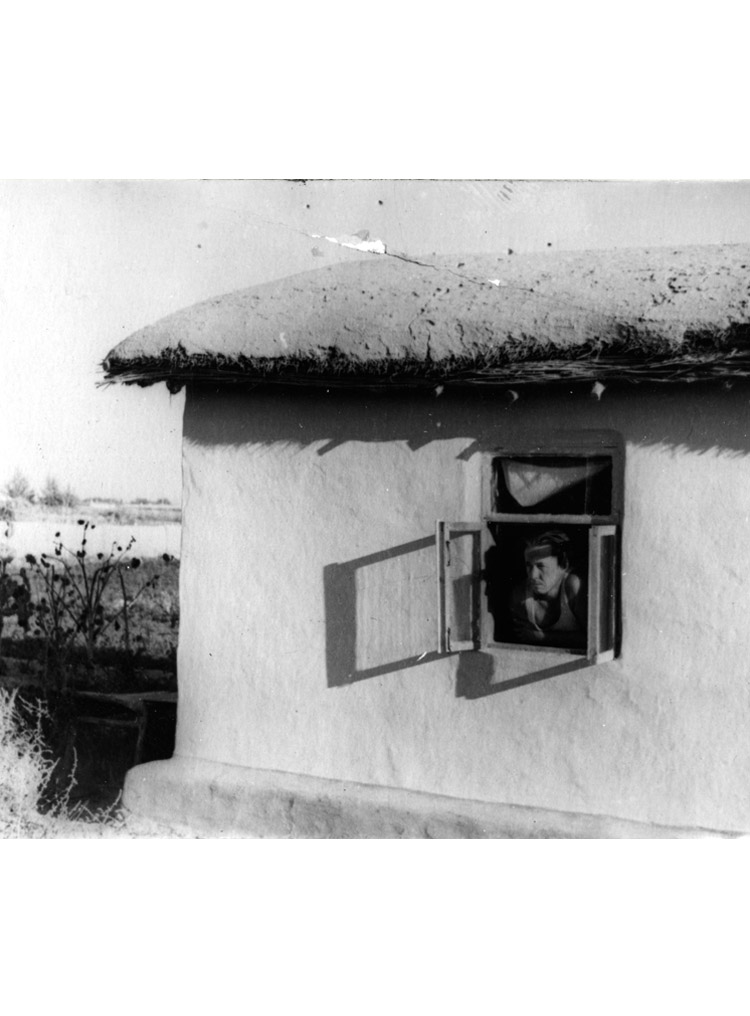 3.1  ┆     At his hut in exile.    Kok-Terek, 1956