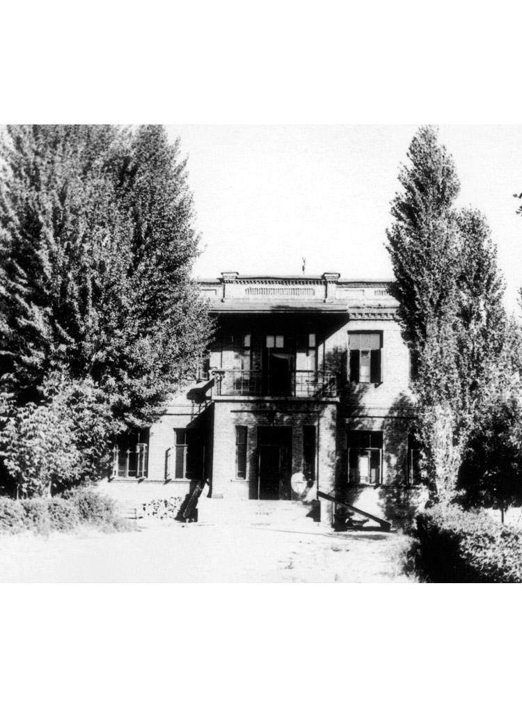 3.7 ┆   Cancer ward.   Tashkent, 1954