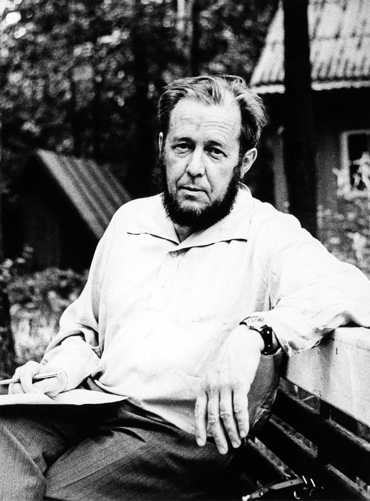 6.2┆Aleksandr Solzhenitsyn.   Credit: Eduard Gladkov 1967