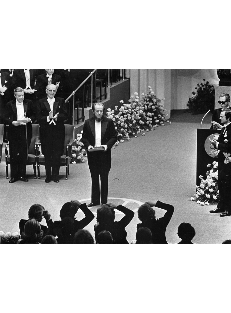 7.18┆  Nobel Prize Award Ceremony.   Stockholm, 10 December 1974 © Pressens Bild AB