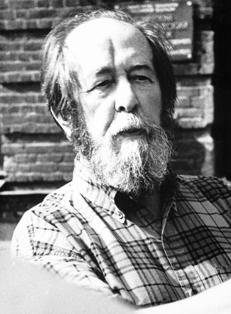9.7┆  Aleksandr Solzhenitsyn in Uglich.   September 1996