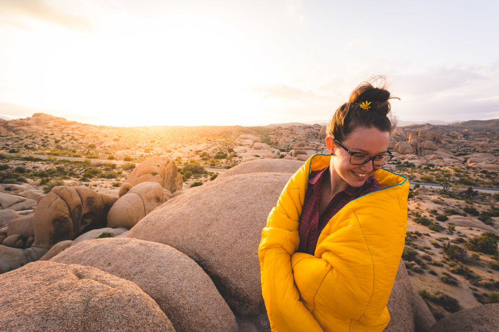 Rumpl Blanket Joshua Tree at Sunset