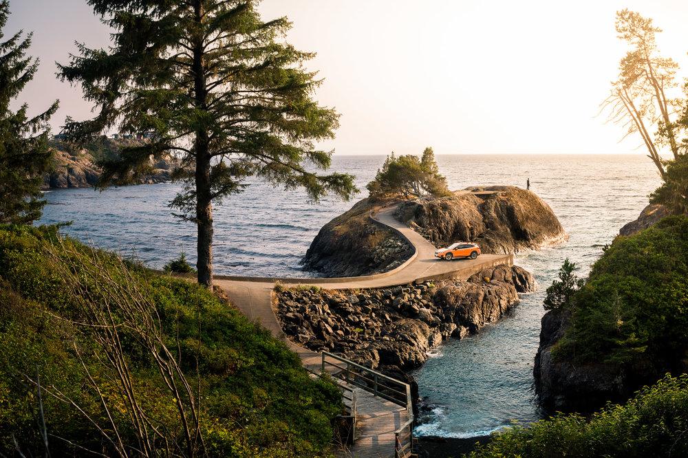 Subaru Crosstrek Vancouver Island