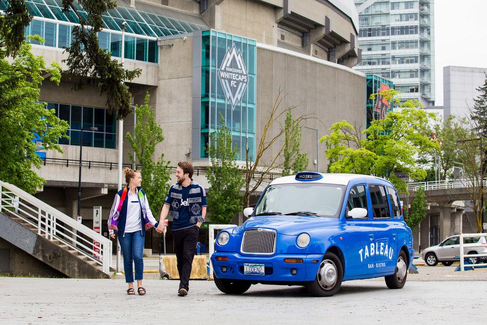 Tableau Car Vancouver Whitecaps