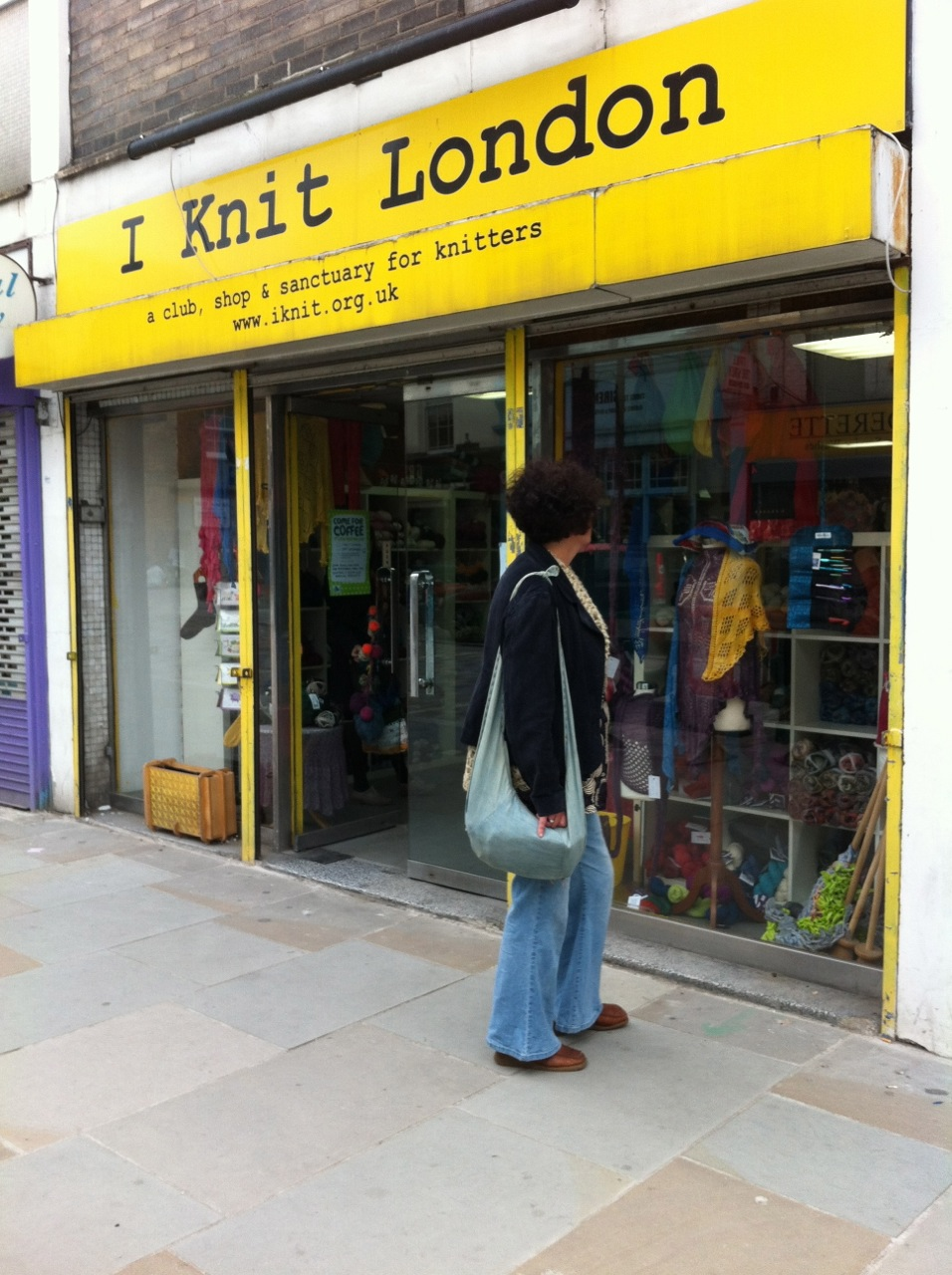 Knitting Events London : Yarn in the city