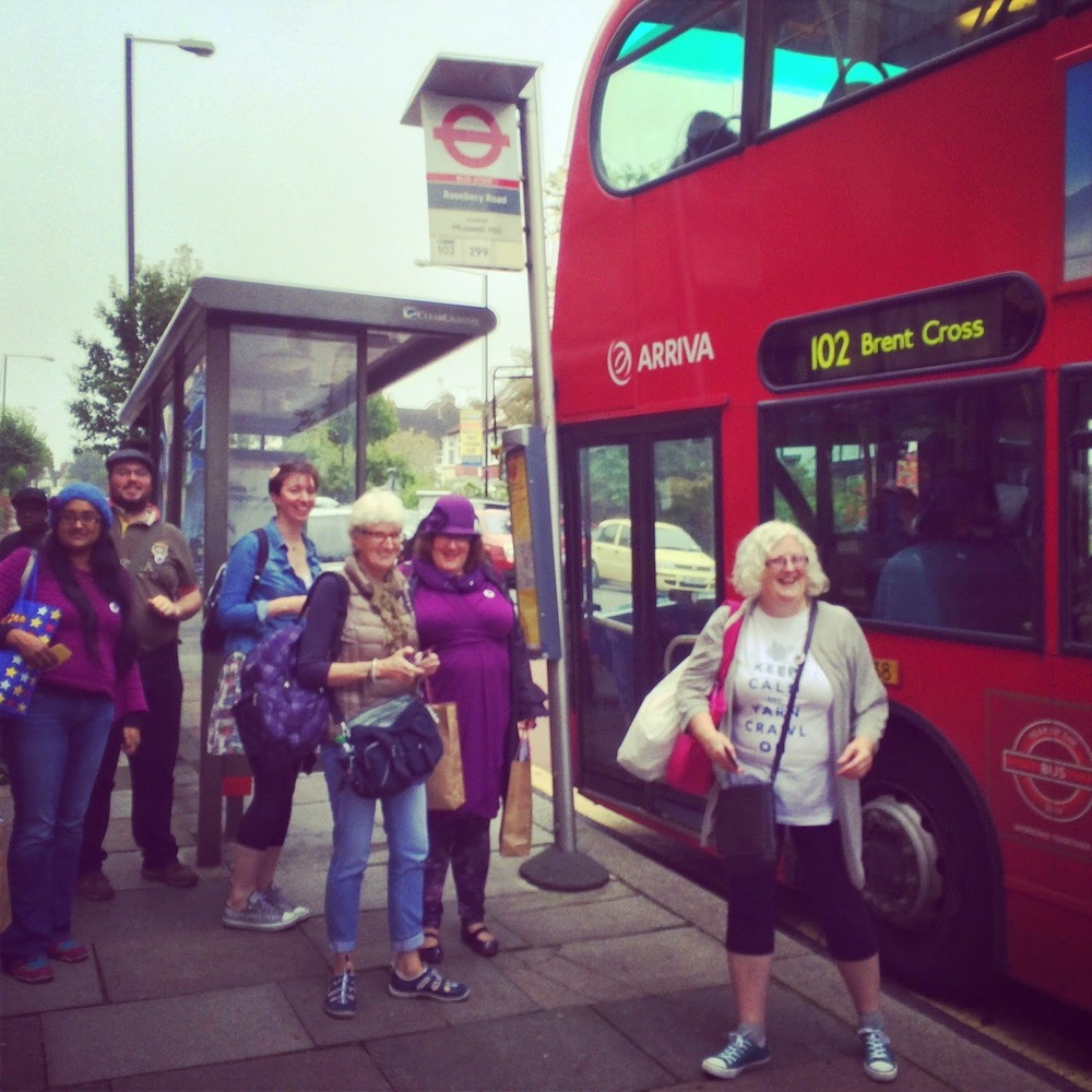 Caught on Instagram: Team Shetland and fearless volunteer Jill about the catch the bus to shop #4