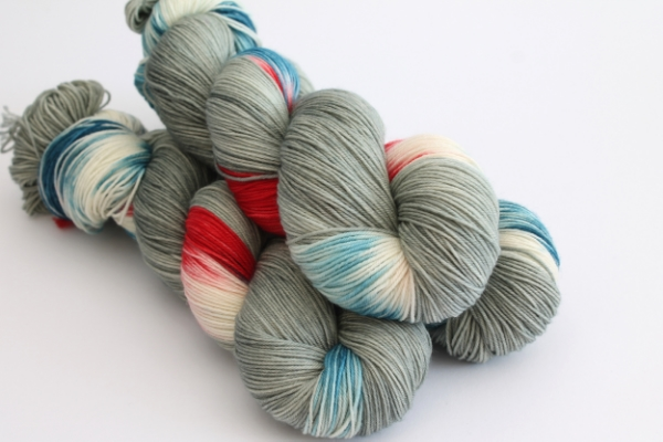 The exclusive Yarn in the City custom colourway from Third Vault Yarns has sold out!