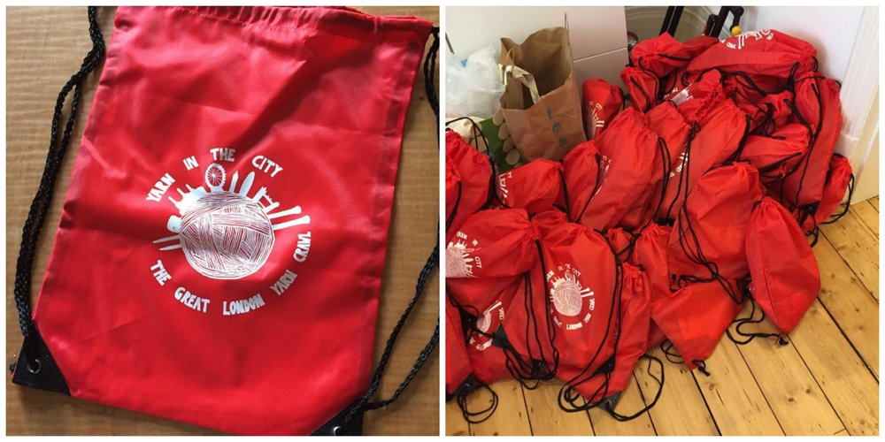 The goody bags are all ready to go for GLYC 2016 this weekend!