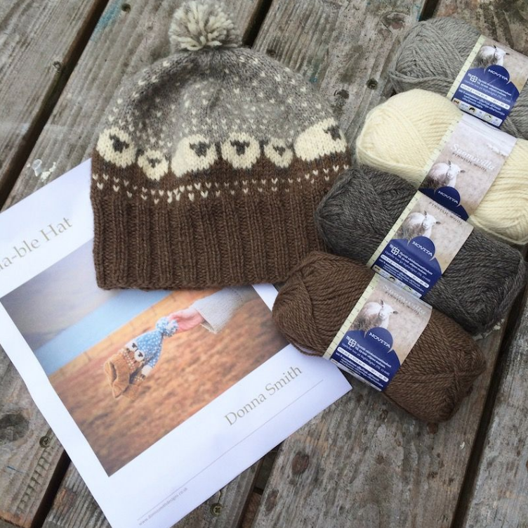 Baa-ble Hat kits from Midwinter Yarns in Suomivilla