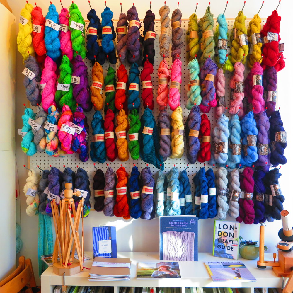 The Wool Kitchen and The Travel Knitter take centre stage at Wild and Woolly