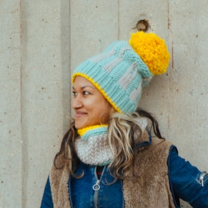 London Life Hat & Cowl by Allison Thistlewood