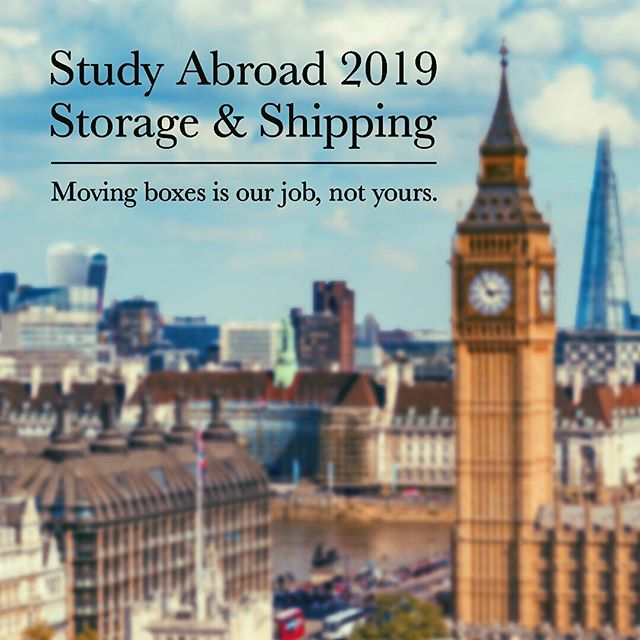 Thinking about studying abroad in the spring?  What a coincidence.. we were thinking about making your moving and storage experience a whole lot easier  #LETSTRUCKabroad