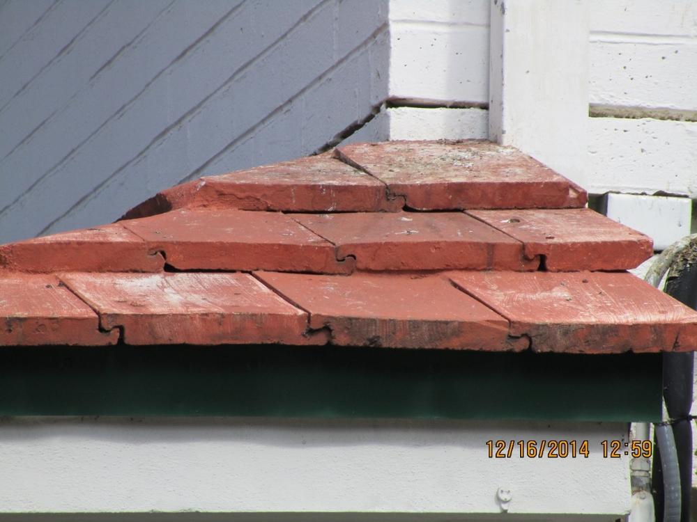 Edge of Eyebrow Roof