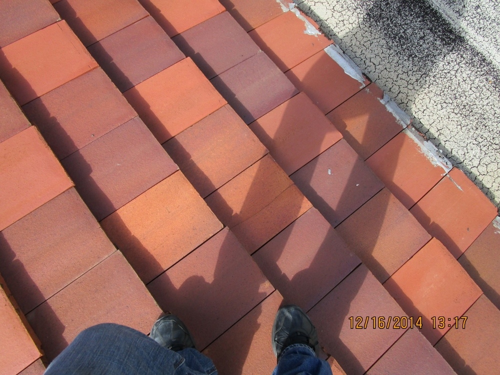 Tile to Flat Roof Transition