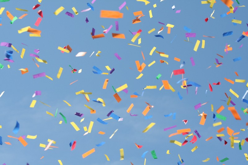 image credit: Confetti by ADoseofShipBoy via CC BY 2.0